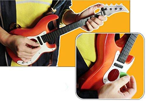 yemsy style 弾いている 感覚が楽しめる 子供 用 本格 軽量 キッズ おもちゃ ギター 収納袋付き 選べる カラー (ブラウン)