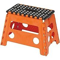 トレードワン 踏み台 ステップ セノ・ビー 幅ひろ君 オレンジ 高さ32㎝ 折りたたみ チェア 10072