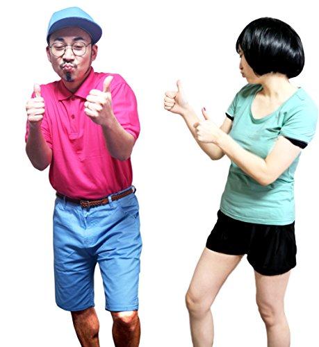 GREEM MARKET(グリームマーケット) にゃんこスター 風 なりきり パロディ フリーサイズ コスプレ セット 衣装 お得なセット! 品番:GMH00198(コンビセット)