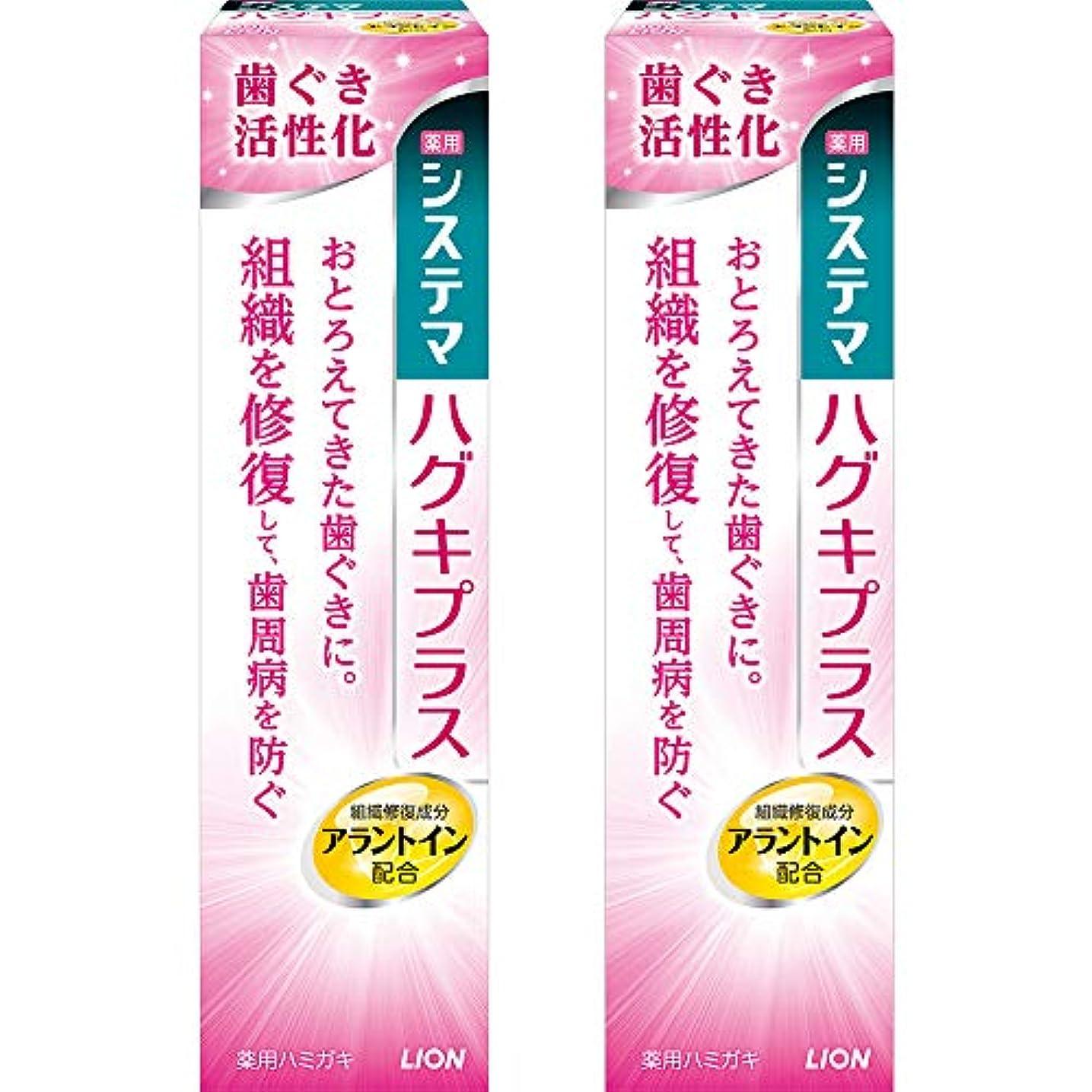 システマ ハグキプラス ハミガキ 90g×2個 [医薬部外品]