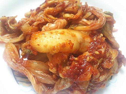 (やがちゃんキムチ謹製/無添加・アミノ酸も酵母エキスも無添加)白菜キムチ「和の味」1kg(袋入り) 国産白菜使用 辛さ控えめ