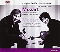 Mozart: Sinfonia Concertante; Duos For Violin & Viola by Philippe Graffin (2007-09-18)
