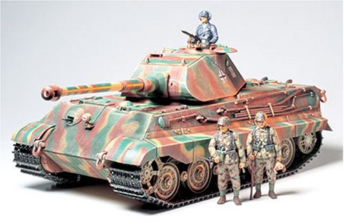 1/16 ビッグタンクシリーズ キングタイガー・ポルシェ砲塔
