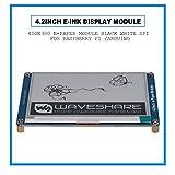 Fosa 4.2インチ E-Inkディスプレイモジュール400x300電子ペーパーモジュール ブラックホワイトSPI ラズベリーパイ第3世代B / Arduinoに対応 インクスクリーンモジュール
