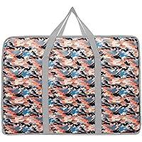大型ストレージバッグカモフラージュパターンポータブル高品質の旅行主催者防水防湿オックスフォード布の布団のキルトの衣類移動仕上げ荷物の収納袋 (サイズ さいず : 50 * 20 * 40cm)