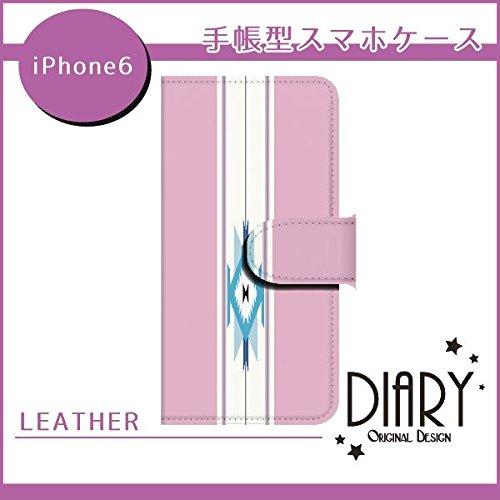 Apple iPhone6(4.7インチ) オルテガ3 ピンク スマホケース ブック 手帳型 カバー ql792-e2580(ピンク)
