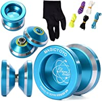 Magic YOYO N8 Alloy Aluminum Yo Yo Bearing Reel + 5 Strings + Glove TH107 [並行輸入品]