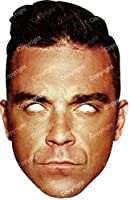 Robbie Williams Card Mask, Robbie Williams, Impersonation/fancy Dress