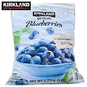コストコ 冷凍 ブルーベリー 2.27kg カークランド