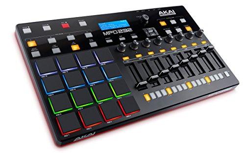 Akai Professional USB MIDIコントローラー 16パッド 8フェーダー 音源ソフト付属 MPD232