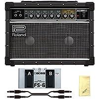【愛曲クロス付】【フットスイッチ/FS-6+接続ケーブル付】Roland ローランド JC-22 Jazz Chorus Guitar Amplifier ジャズコーラス ギターアンプ