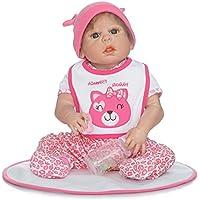 NPK collection Rebornベビー人形リアルな赤ちゃん人形ビニールシリコン赤ちゃん22インチ55 cmレッドSuit人形