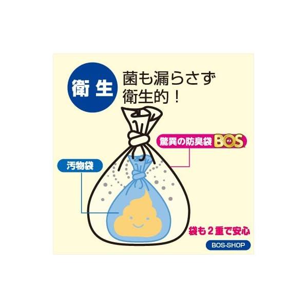 驚異の防臭袋 BOS (ボス) 非常用 トイレ...の紹介画像4