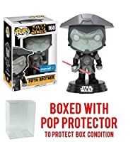 Funko POP 。STAR WARS REBELS : Fifth Brother # 168 ( Walmart Exclusive ) Vinyl Figure (バンドルwith Popボックスプロテクターケース)