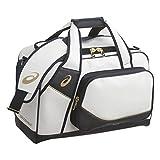 アシックス(asics) ゴールドステージ セカンドバッグ BEA162 0150 ホワイト/ネイビー F