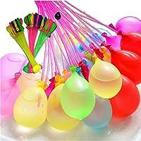 水風船 水爆弾 大量 ウォーター バルーン 111ピース (3束) 暑い夏の水遊びに 60秒以内に一気に膨らませて 遊べる 水風船