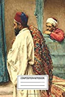 """Notebook: Giulio Rosati (orientalism) ⛔ Hq The Conversation , Journal for Writing, Size 6"""" x 9"""", 164 Pages"""