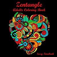 Zentangle Adults Coloring Book Art Therapy
