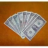9 枚 1ドルのライトニングビルです。 / 9 pcs 1 Dollar Flash Note -- ファイヤーマジック / Fire Magic / マジックトリック/魔法; 奇術; 魔力 …