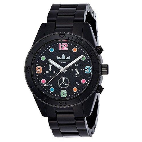 [アディダス]Adidas メンズ レディース ブリスベン クロノグラフ 10気圧防水 ブラック マルチカラー ADH2946 腕時計 [並行輸入品]