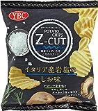 ヤマザキビスケット ポテトチップスZ-CUTイタリア産岩塩のしお 60g ×12個