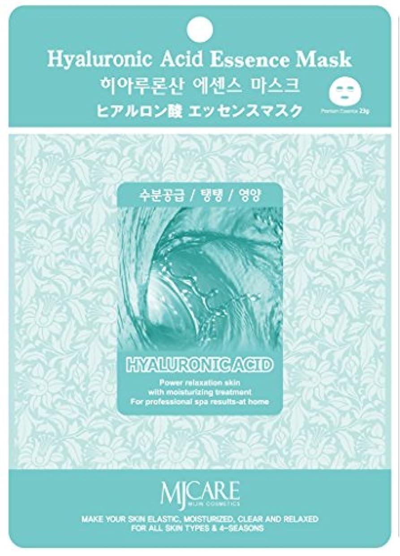 疎外する鏡栄養MJCAREエッセンスマスク ヒアルロン酸10枚セット