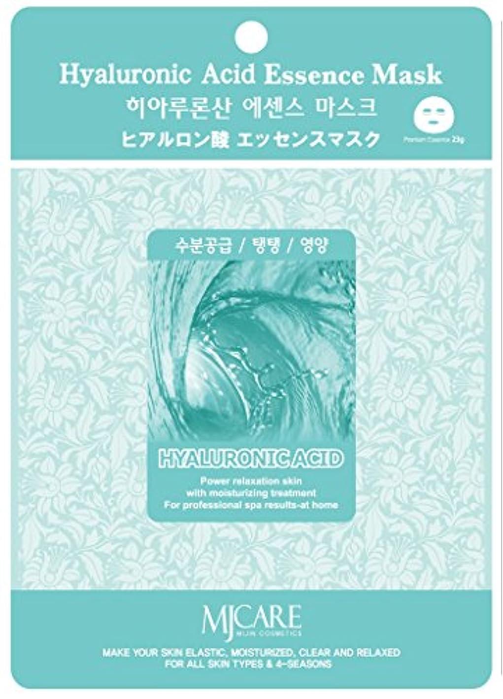童謡通知タンパク質MJCAREエッセンスマスク ヒアルロン酸10枚セット