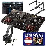 Pioneer DJ パイオニア DDJ-400 DJコントローラー + ヘッドホン + スタンド DJセット