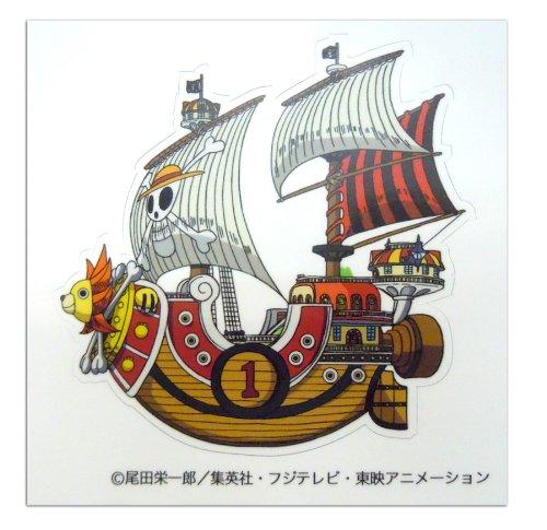 ONE PIECE ワンピース インテリアアートシール(ウォールステッカー) 11.5cm×11.5cm サニー号