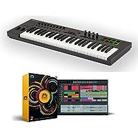 Nektar Impact LX49+ 49 note USB keyboard controller bundle with Bitwig Studio software DAW [並行輸入品]
