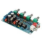 quickbuying 1pcs ne5532op-amp HIFIアンププリアンプEQボリュームトーンコントロールボードDIYキット112x 68x 23mm Electricモジュールボード