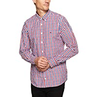 TOMMY HILFIGER Men's Gingham Long Sleeve Shirt