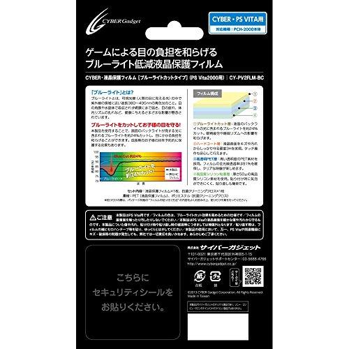 PS Vita 2000用 液晶保護フィルム ブルーライトカットタイプ