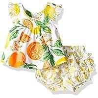Masala Baby Baby Girls 2 pc Set Citrus Blossom