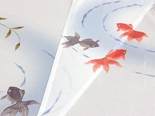 のれん 柳と金魚(新) 幅85cm×丈150cm