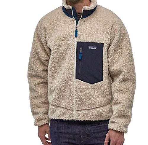 patagonia(パタゴニア) メンズ クラシック レトロX ジャケット Men's Classic Retro-X Fleece Jacket 23056 フリースジャケット (Natural (NAT), M) [並行輸入品]
