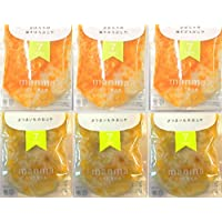 無添加・有機米・無農薬野菜のベビーフード「manma 四季の離乳食」(6個セット【7か月】)