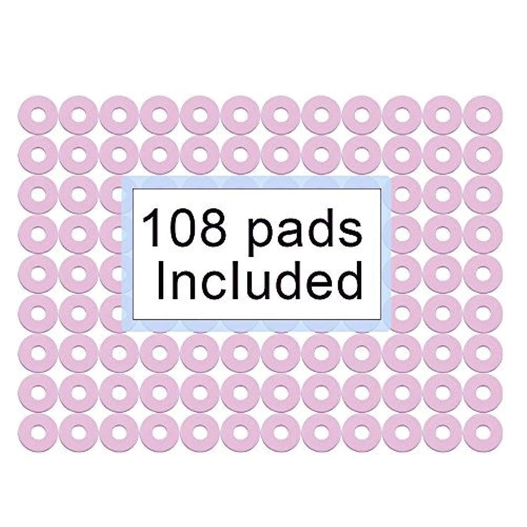 感謝暴露するピクニックをする108個入-うおの目保護パッド 1''セルフスティックサークル 足裏パッド 防水 タコ ウオノメ保護用 摩擦防止足の痛みを和らげる-Welnove