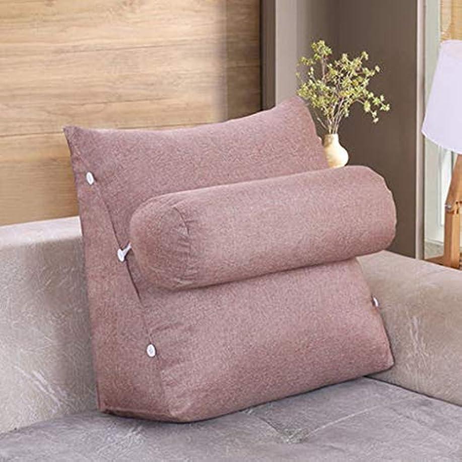 昼寝ワイン慢31-luoshangqing 多機能クッション、ベッドサイドクッションソファーソフトバッグ枕洗える枕クッション (Color : B, サイズ : 60*50*22)