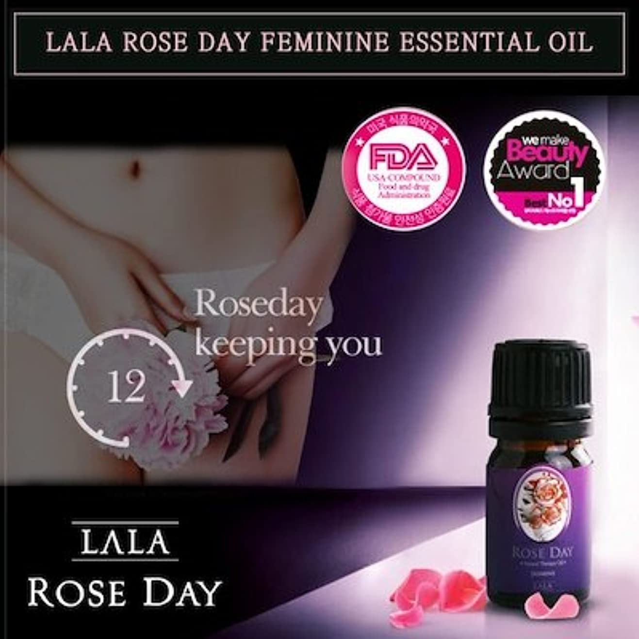 LALA Rose Day Natural Therapy Oil(Jasmine)/Feminine Essential Oil/Korea Cosmetic