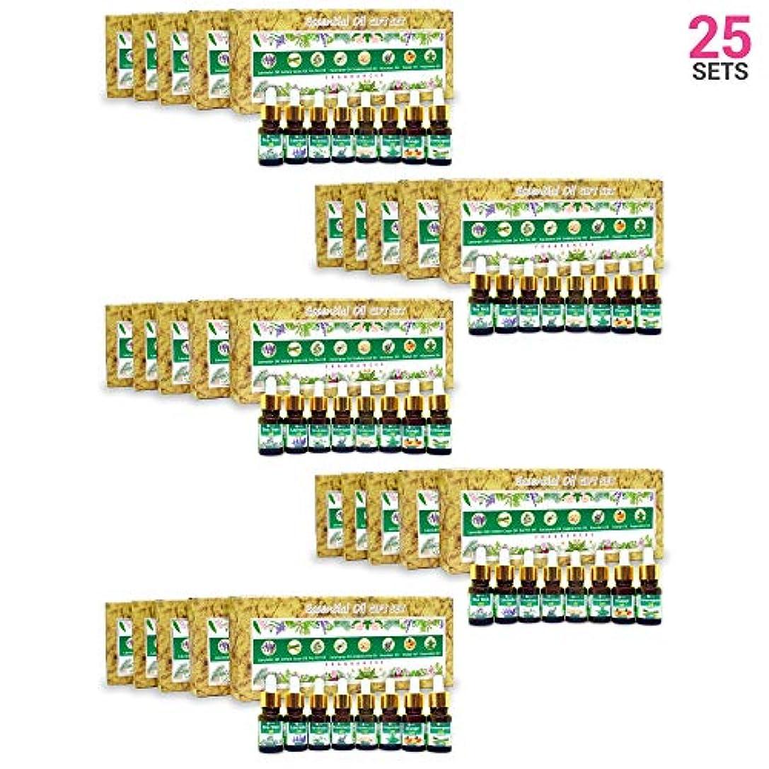 しわミシンマラドロイトAromatherapy Fragrance Oils (Set of 25)- 100% Natural Therapeutic Essential Oils, 10ml each (Tea Tree, Lavender...