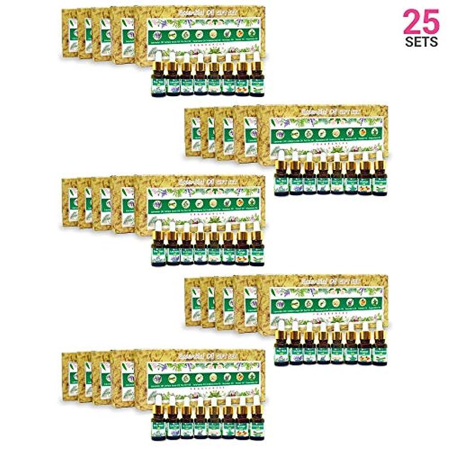アフリカ人差別毎週Aromatherapy Fragrance Oils (Set of 25)- 100% Natural Therapeutic Essential Oils, 10ml each (Tea Tree, Lavender, Eucalyptus, Frankincense, Lemongrass, Rosemary, Orange, Peppermint) Express Shipping