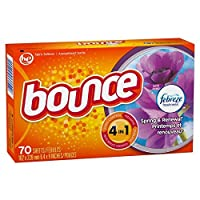 Bounce with Febreze Fabric Softener Sheets, Spring & Renewal 70 ea [並行輸入品]