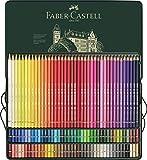 ファーバーカステル ポリクロモス色鉛筆セット 120色 缶入 110011 [日本正規品] 画像