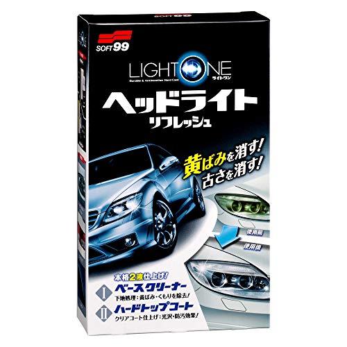 SOFT99 ( ソフト99 ) LIGHT ONE ヘッドライトリフレッシュ 03133 [HTRC3]