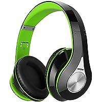Mpow 密閉型 Bluetooth ヘッドホン 高音質 20時間再生 折りたたみ式 ケーブル着脱式/バランス接続対応 リモコン・マイク付き/ハンズフリー通話可能 グリーン MPBH059AG
