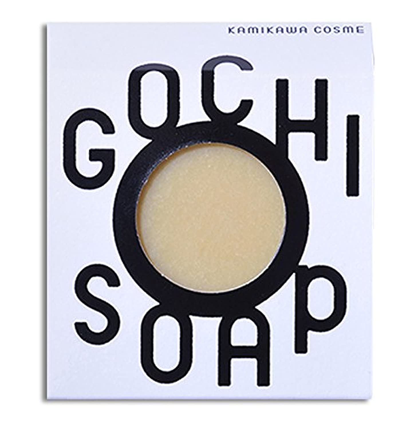 粘液道徳教育セッション道北の素材を使用したコスメブランド GOCHI SOAP(山路養蜂園の蜂蜜ソープ?ふじくらますも果樹園のりんごソープ)各1個セット