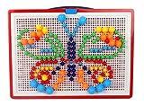 ペグボード パズル 玩具 知具 ペグ (ペグ 296個)