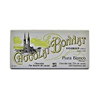 テレビで話題のフランス発 BONNAT CHOCOLAT ボナ サロン・デュ・ショコラ 板チョコ100g (ピウラブランコPiura Blanco 1枚)