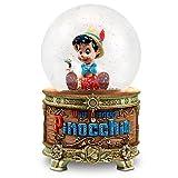 ディズニー Disney USディズニーストア公式 正規品 ピノキオ スノーグローブ オルゴール付 ライトアップ / Pinocchio Snowglobe スノードーム オルゴール付 [並行輸入品]